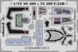 F-35B interior S. A. - 1/72 - Fujimi