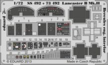 Lancaster B Mk. II interior S. A. -  1/72 - Airfix