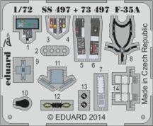 F-35A interior S. A.  - Italeri