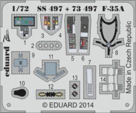 F-35A interior S. A. - 1/72 - Italeri