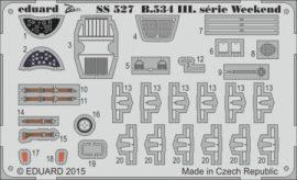 Avia B.534 III. serie Weekend  - 1/72 - Eduard