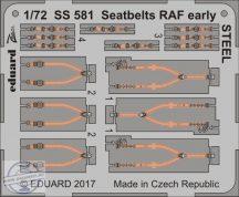 Seatbelts RAF early STEEL