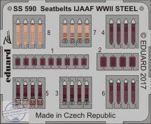 Seatbelts IJAAF WWII STEEL