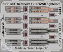Seatbelts USN WWII fighters STEEL