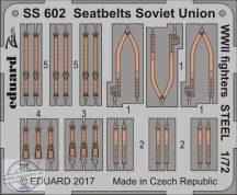 Seatbelts Soviet Union WW2 fighters STEEL 1/72
