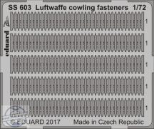 Luftwaffe cowling fasteners  1/72