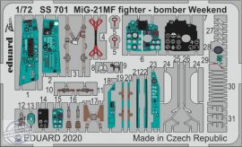 MiG-21MF fighter-bomber Weekend - 1/72 - Eduard
