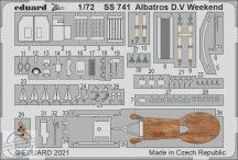 Albatros D.V Weekend - 1/72 - Eduard
