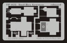 Tool Box German - 1/35 - Német szerszámosdobozok