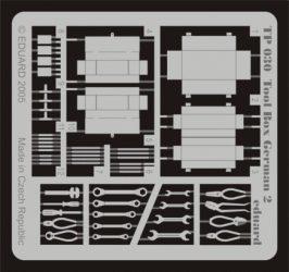 Tool Box German 2. Német szerszámosládák szerszámokkal - 1/35