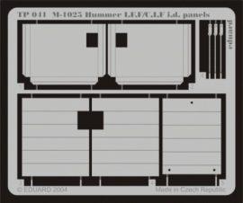 M-1025 I.F.F./C.I.F. i.d. panels - 1/35 - Academy