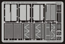 T-55A grill and armoured plates - 1/35 - Tamiya