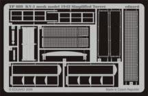 KV-1 mesh Simplified turret - Trumpeter