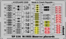 M-1025 placards