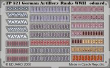 German Artillery Ranks WWII