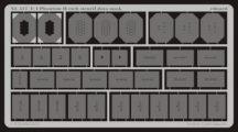 F-4 etch stencil data mask -etch - 1/32- Revell