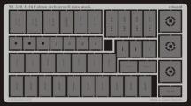 F-16 etch stencil data mask -etch