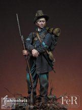 Corporal, 19th Indiana Volunteer Infantry Regiment, Iron Brigade, 1862 - 75 mm