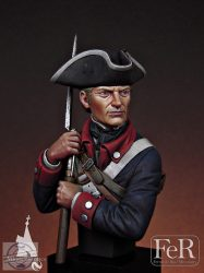 Continental Infantryman, 1st Maryland, 1781 - 1/12