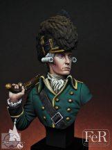 Tarleton's Legion Officer, Charleston, 1780 - 1/12