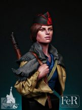 ¡No Pasarán! CNT Militiawoman Barcelona, 1936 - 1/12
