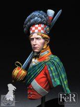 92nd Regiment of Foot, Gordon Highlanders Waterloo, 1815 - 1/10