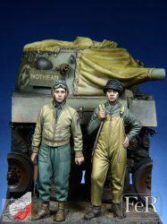 U. S. Tank Crew E. T. O. Set - 1/35
