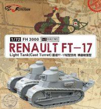 Renault FT-17 Light Tank (Cast Turret) 2 makett !!!