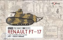 Renault FT-17 Light Tank (Riveted Turret) 2 makett !!!