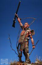 Huron Warrior, Sec.+XVII - 54 mm