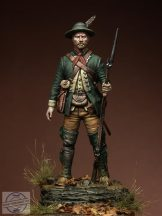 Colonial Ranger, North America 1758 - 54 mm