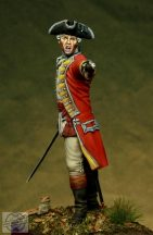 British Officer, 35th Rgt. - XVIII sec. - 54 mm