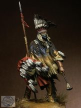 Winds of War, North Cheyenne Warrior - 75 mm