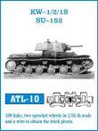 KV-1/2 /1S / SU-152 (ATL10) - 1/35