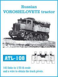 Russian VOROSHILOVETZ tractor  (ATL108)