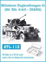 Mitteleler Zugkraftwagen 5t ( Sd. Kfz. 6-6/2 - DIANA)  (ATL112)