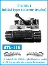 TIGER I initial type (mirror tracks)  (ATL116)