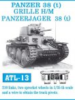 PANZER 38 (t) / GRILLE-MARDER III. / GRILLE H/M PANZERJAGER 38(t)  (ATL13)