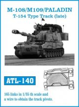 M108 / M109 / PALADIN T-154 Type track  (ATL140)