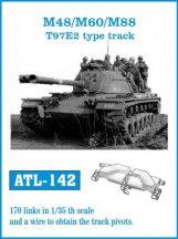 M48/M60/M88 T97E2 type track  (ATL142)
