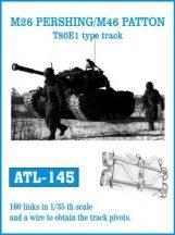 M26 PERSHING / M46 PATTON T80E1 type track  (ATL145)