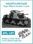 Grant/Lee/Ram Type WE210 Double I track  (ATL167)