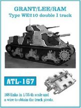 Grant/Lee/Ram Type WE210 Double I track  (ATL167)
