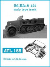 Sd.Kfz. 8 12t Early type track  (ATL169)