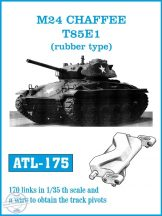 M24 CHAFFEE   T85E1  (rubber type) (ATL175)