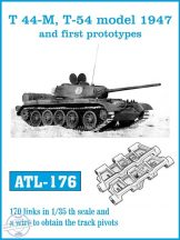 T 44-M, T-54 model 1947 and first prototypes (ATL176)