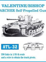 VALENTINE/BISHOP / ARCHER Self-Propelled Gun  (ATL32)