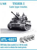 TIGER I Late type tracks