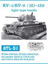 KV-1 / KV-2 / SU-152 light type tracks  (ATL51) - 1/35