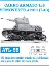CARRO ARMATO L/6 SEMOVENTE 47/32 (L40)  (ATL95)